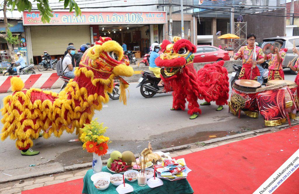 Cho Thuê Múa Lân Khai Trương
